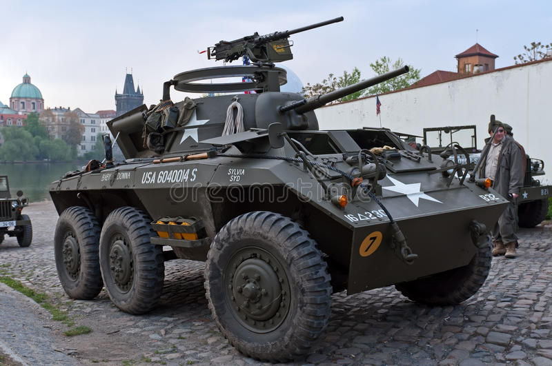 Armoured Fighting Vehicle royalty free stock images