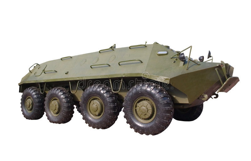 Armoured personnel carrier stock images