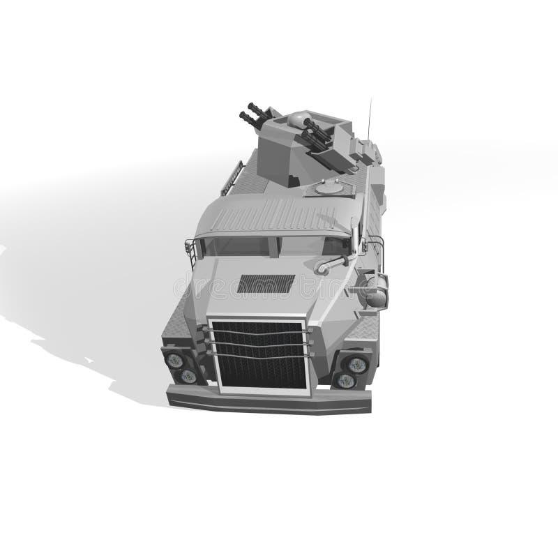 Download Armoured vehicle stock illustration. Illustration of layered - 30592445