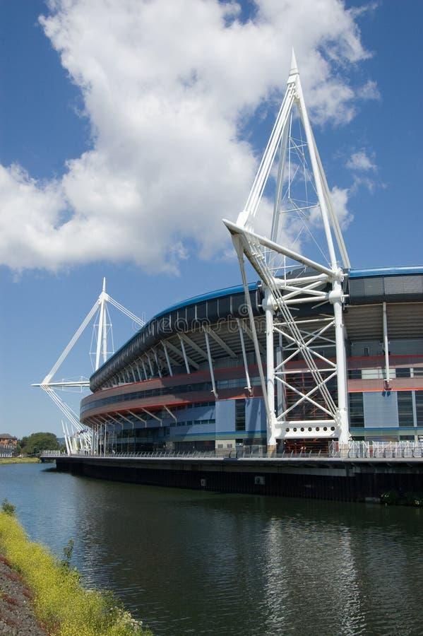 Arms Cardiff Parkstadion Royaltyfri Foto