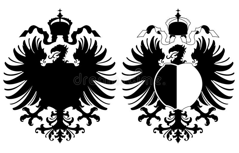 Arms With An Eagle Royalty Free Stock Photos