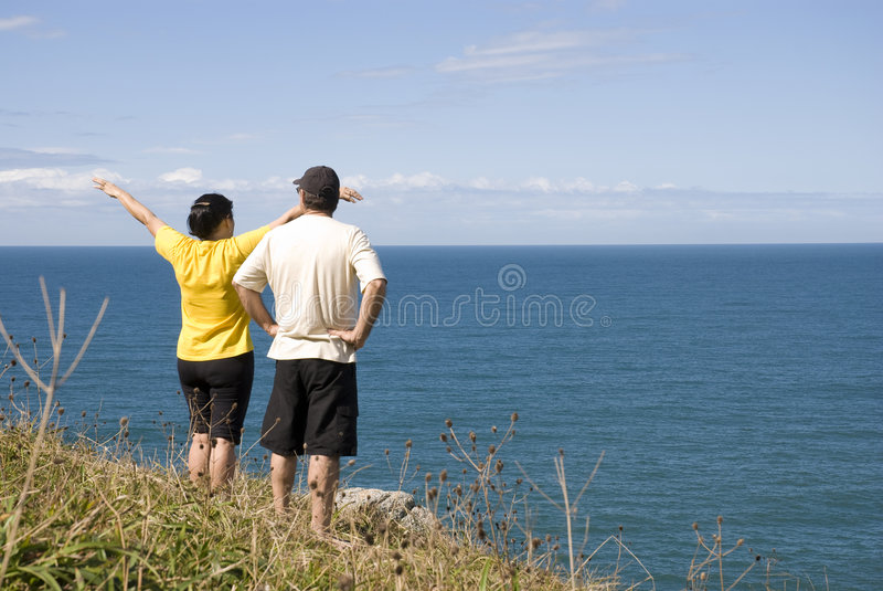 Download Arms open stock photo. Image of peace, quiet, beach, coast - 5240840