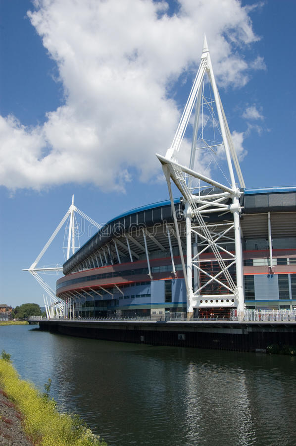 Download Arms Park Stadium, Cardiff stock image. Image of stadium - 14939495