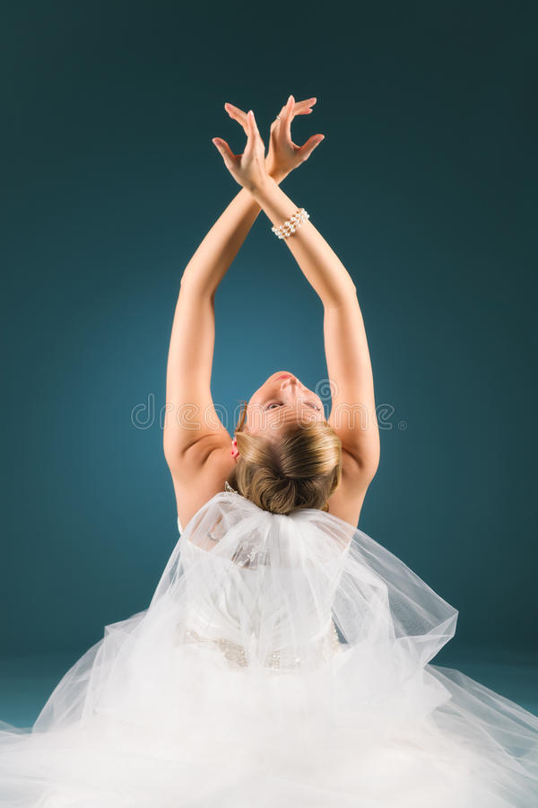 Download Arms raised stock photo. Image of arms, caucasian, married - 28248824