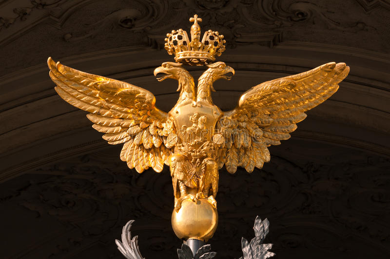 Download Arms of the Russia stock image. Image of eagle, empire - 23978081