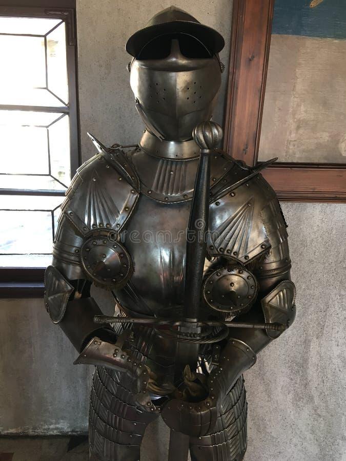 Armure de chevalier image stock