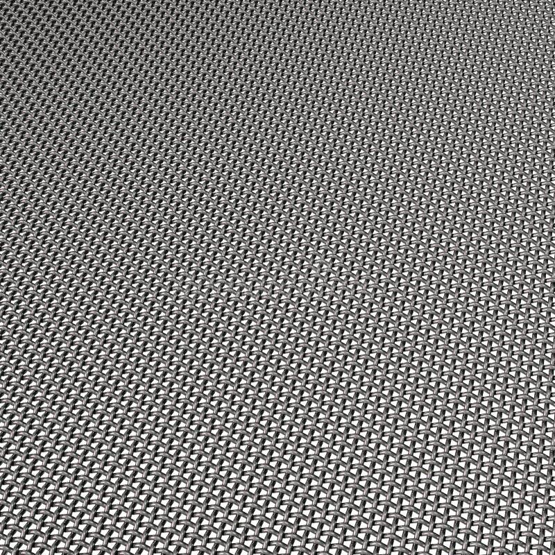 Armure de maille d'acier au chrome illustration de vecteur