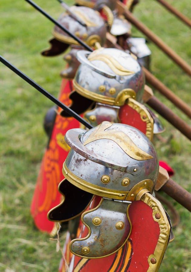 Armure romaine antique photos stock
