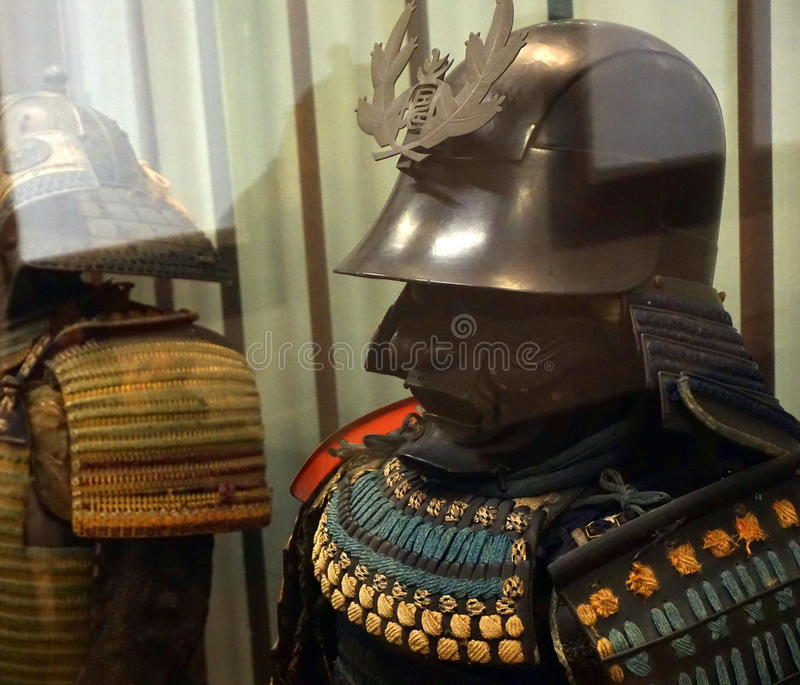 Armure samouraï images stock