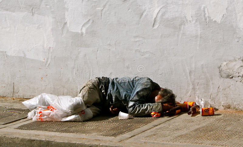 Armut, Kolumbien stockfoto