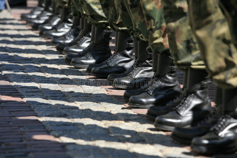 Army. Canon eos 5 d + 70-20/2,8 royalty free stock photography