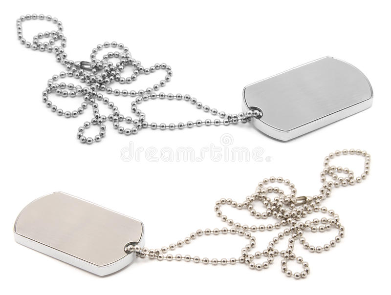 Army dog tags
