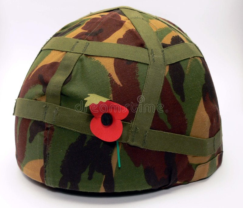 Army helmet stock images