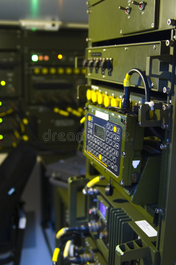 Army intelligence equipment royalty free stock images