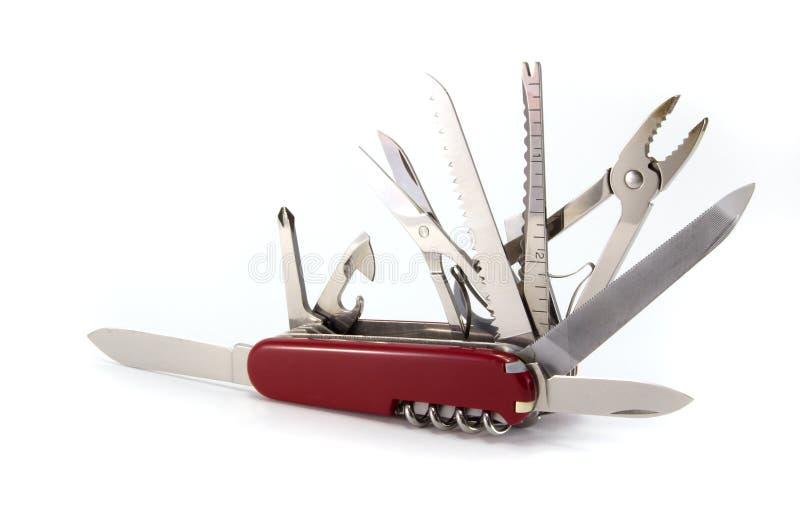 Army knife stock photo