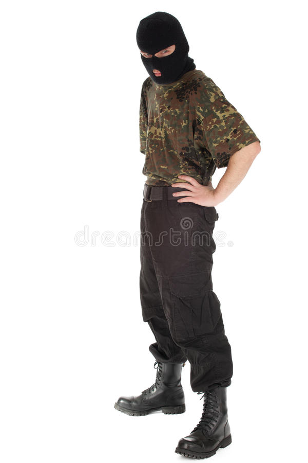 Download Army man stock photo. Image of army, faceless, male, camouflage - 20261860