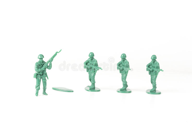 Army Man Independence stock photography