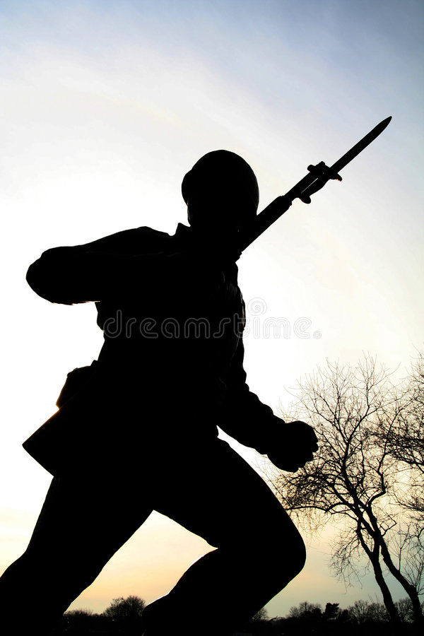 Download Army Man Silhouette Stock Photos - Image: 1422403