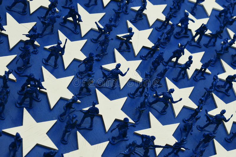 Army Men royalty free stock photo