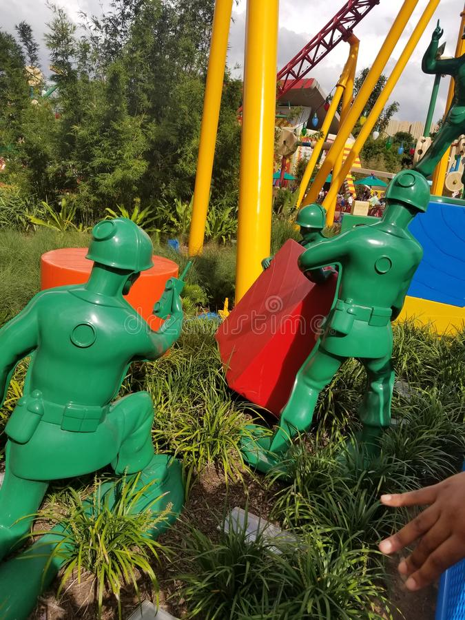 Toy Story Land in Disney World royalty free stock photography