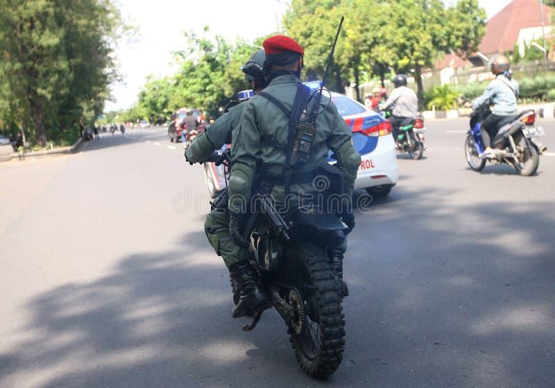 Army patrol royalty free stock photos