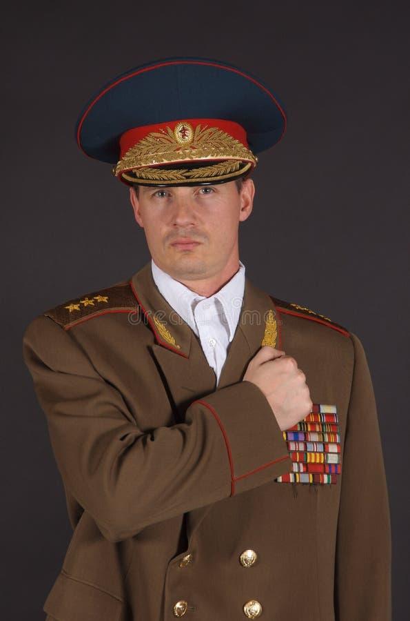 Army Potrait stock photo