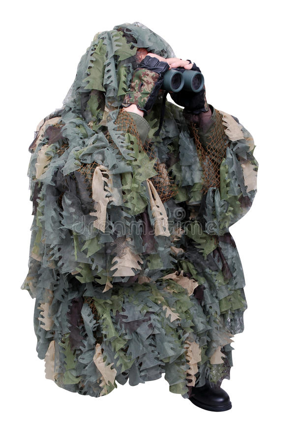 Army scout royalty free stock image
