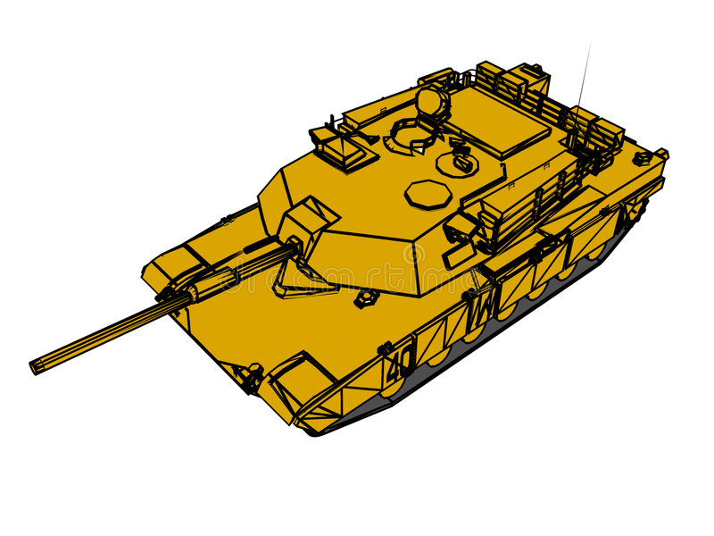Army Tank Royalty Free Stock Photography