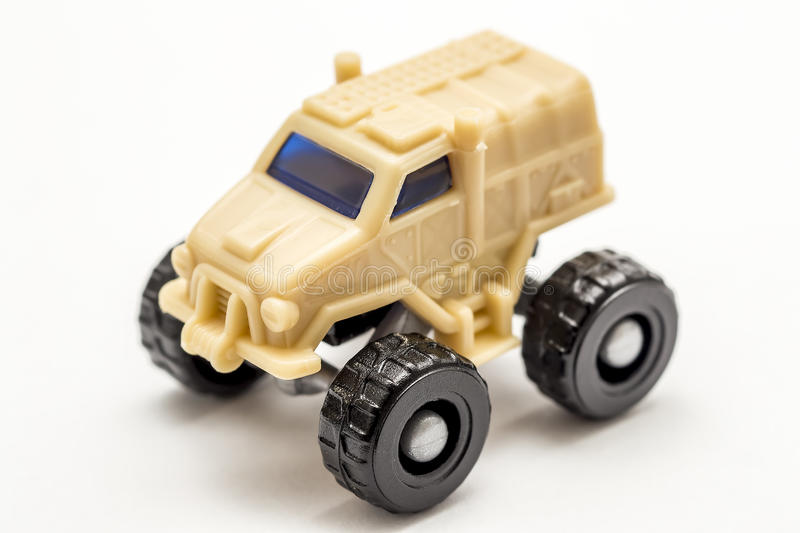 Army Toy Car Stock Image