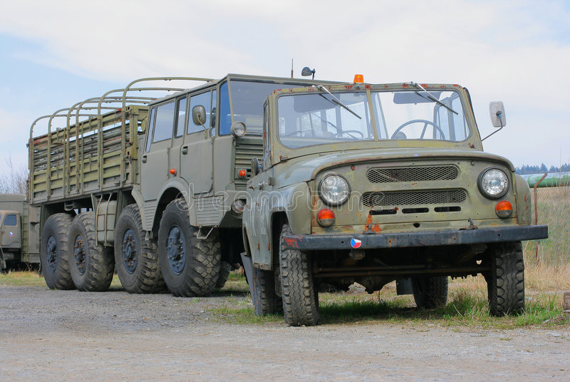 Army Truck 2 Stock Photography