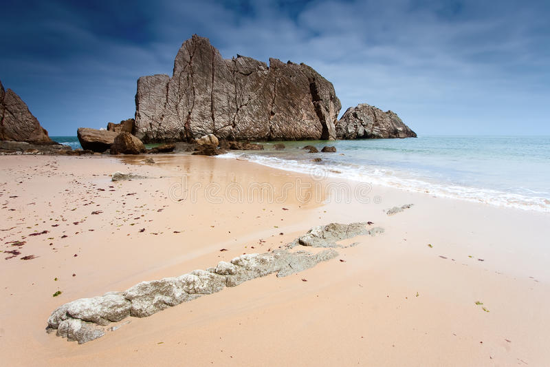 arnia海滩la 图库摄影