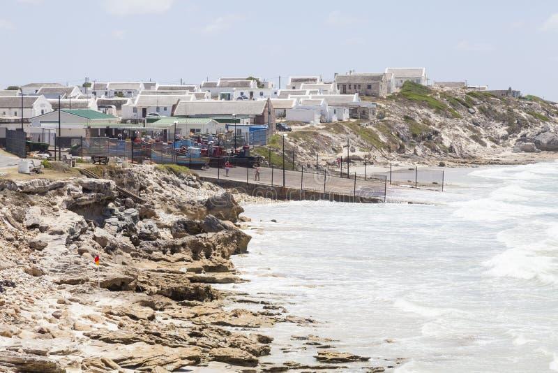 Arniston Agulhas, västra udde, Sydafrika royaltyfri foto