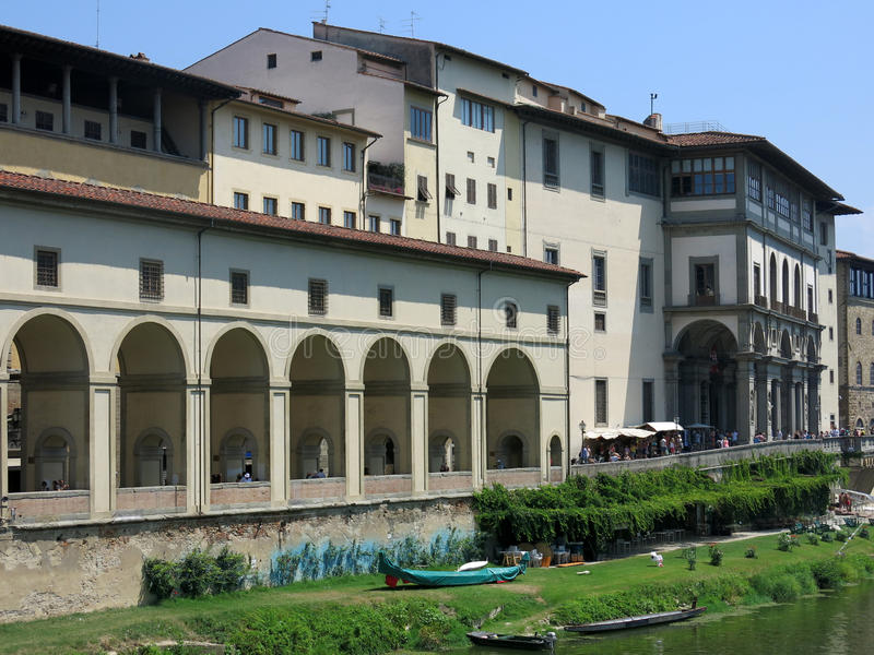 Arno, Florence stock photography