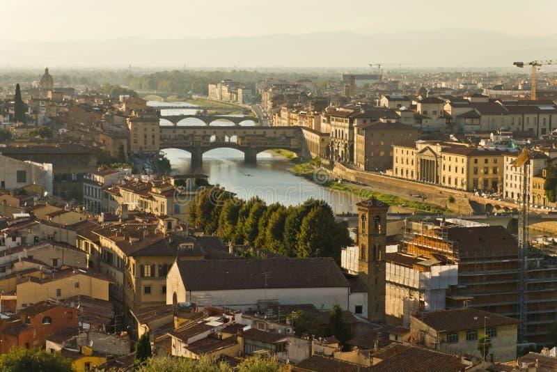 Arno River stock photo