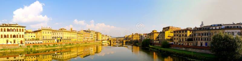 arno rzeka Florence zdjęcia royalty free