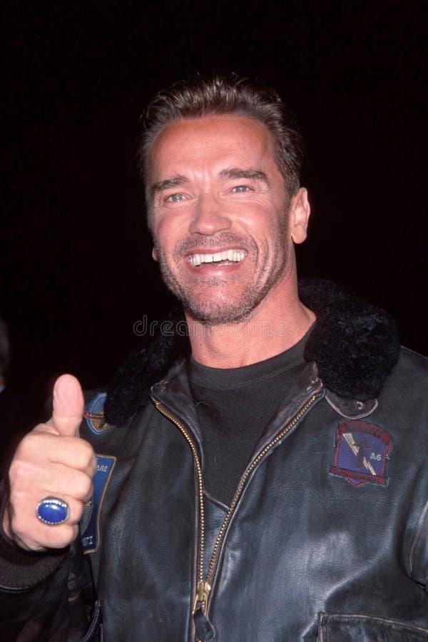 Arnold Schwarzenegger foto de stock