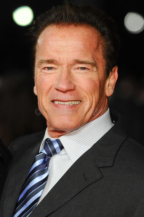 Arnold Schwarzenegger stock foto
