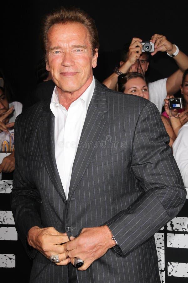 Arnold Schwarzenegger royalty-vrije stock afbeeldingen