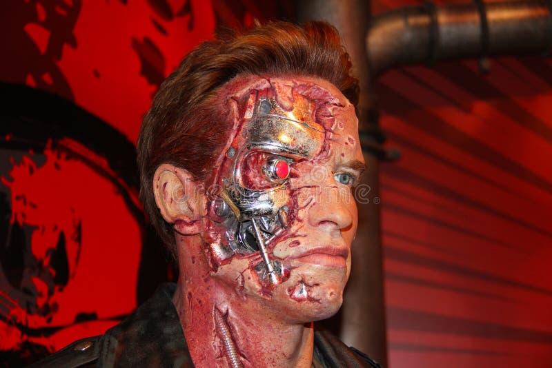 Arnold Schwarzenegger royaltyfri fotografi