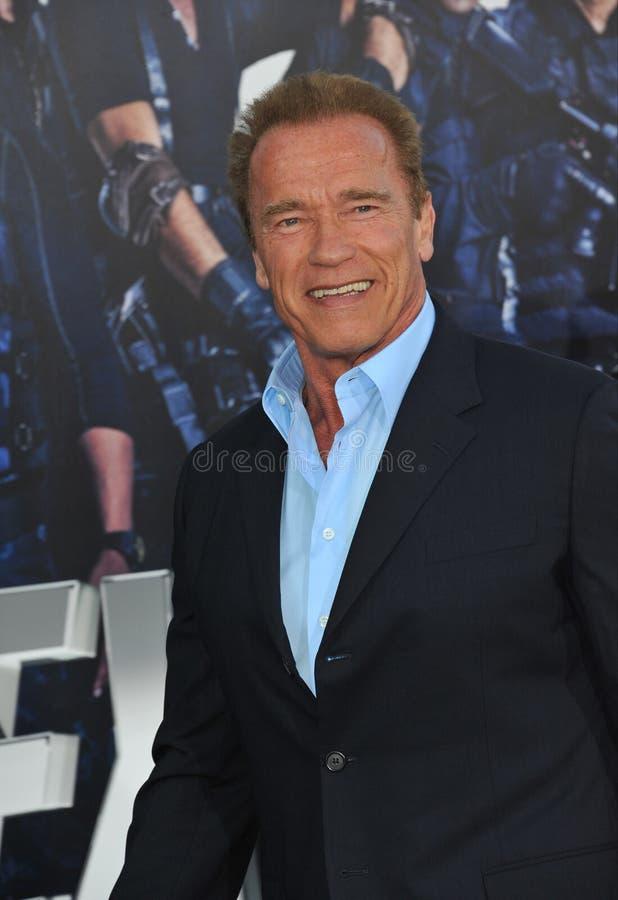 Arnold Schwarzenegger royalty-vrije stock foto's