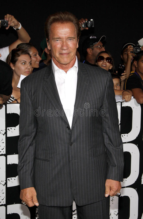 Arnold Schwarzenegger fotos de archivo