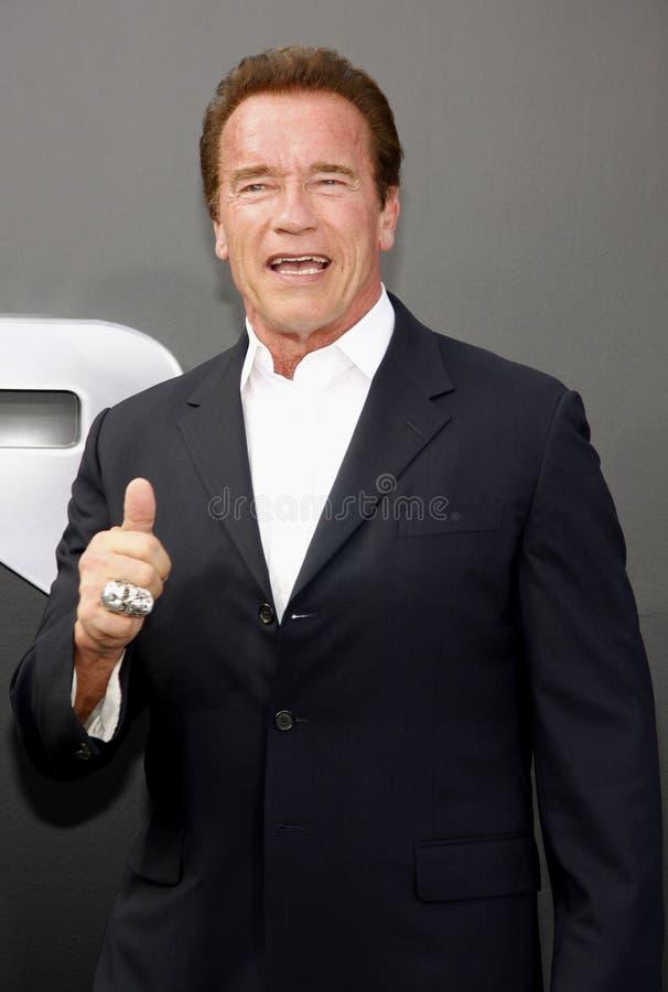 Arnold Schwarzenegger imágenes de archivo libres de regalías
