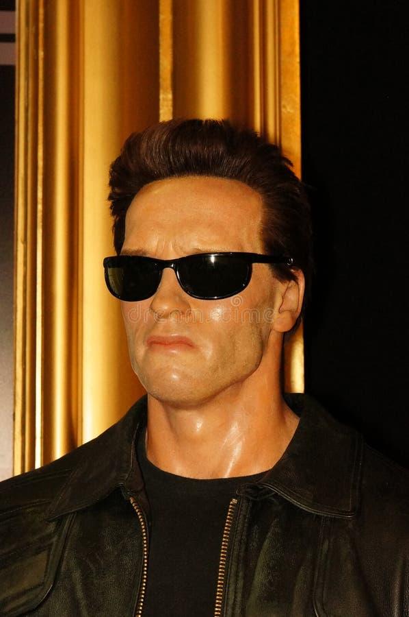 Arnold Schwarzenegger, terminal fotografia de stock royalty free