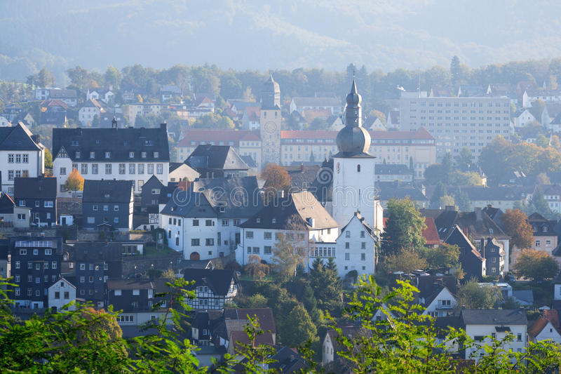 Arnsberg Sauerland Γερμανία στοκ εικόνες με δικαίωμα ελεύθερης χρήσης