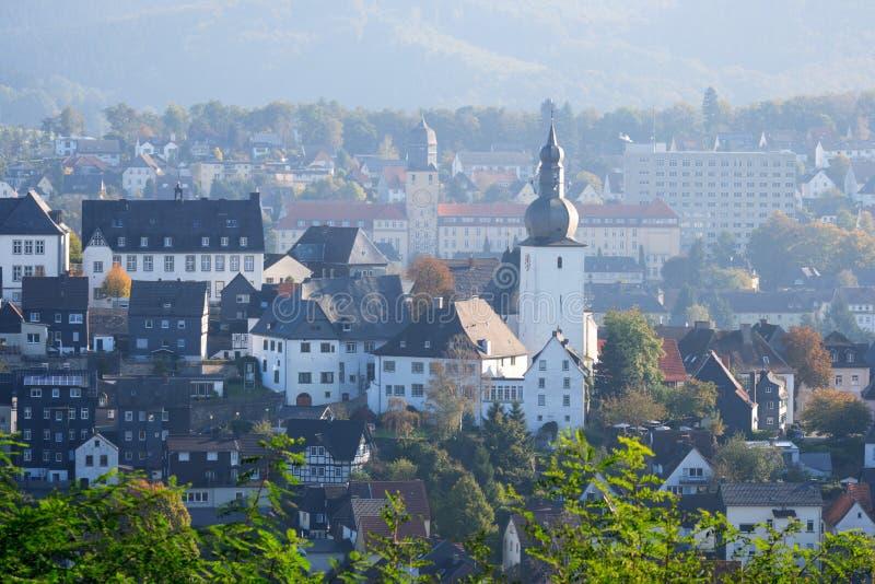 Arnsberg Sauerland Allemagne images libres de droits