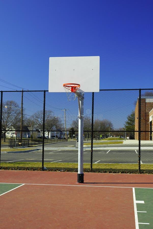 Aro de baloncesto fotos de archivo