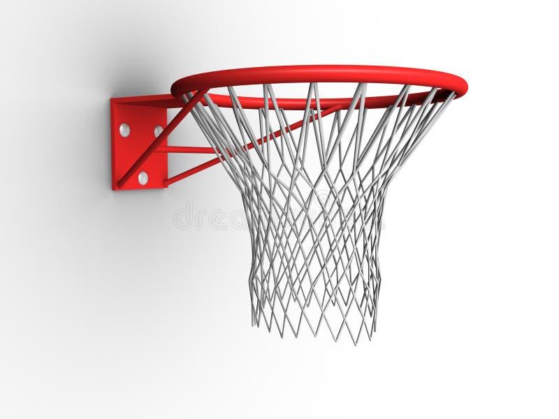 Aro de baloncesto ilustración del vector