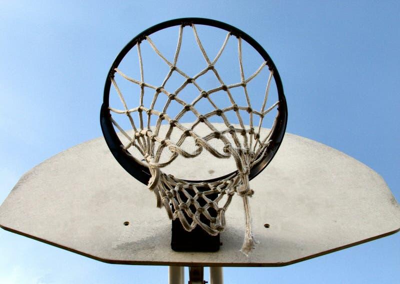 Download Aro de basquetebol foto de stock. Imagem de laço, branco - 25466