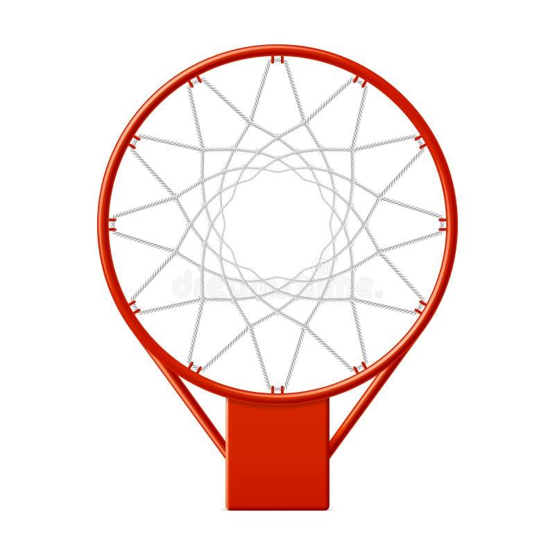 Aro de basquetebol ilustração stock