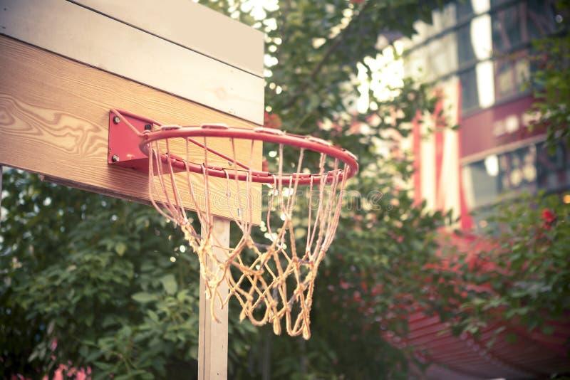 Aro de basquetebol imagens de stock